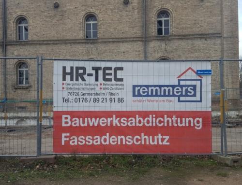 Sanierung der alten Stadtmauer in Germersheim/ Stadtkaserne